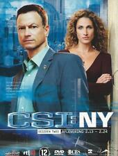 DVD BOX - CRIME SCENE INVESTIGATIONS NEW YORK CSI NY SEASON 2 : 2.13   2.24