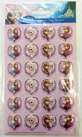 96 Disney Frozen Princess Elsa Anna  Stickers Party Favors Teacher Supply
