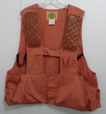 Hunting Shooting Vest Quilted Padded Front Shoulders Pockets Ammo Hold XL 46-48