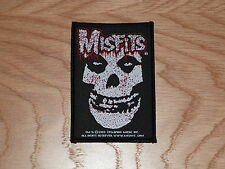 MISFITS - BLOODY FIEND (NEW) SEW ON W-PATCH OFFICIAL BAND MERCHANDISE