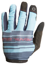 Pearl Izumi 2017 Divide Full Finger Mountain Bike MTB Gloves Blue Mist - XL