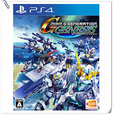 PS4 SD Gundam G Generation Genesis SONY Strategy Games Bandai Namco