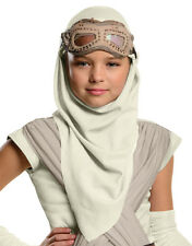 The Force Awakens Costume Accessory, Kids Star Wars Rey Eye Mask Hood