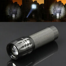 CREE XML 500LM Zoomable Q5 LED Flashlight Torch Zoom Lamp Light 3 Mode Fashion