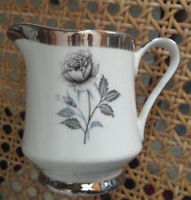 ROYAL SONG * MOONLIGHT ROSE - Japan Japanese PLATINUM FINE CHINA Creamer Cream