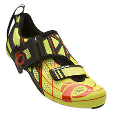 Pearl Izumi Tri Fly PRO v3 Carbon Triathlon Cycling Shoes Lime Punch/Black 44