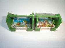 KINDER SURPRISE SET - CROCODILES SCHOOL PUZZLE SKILL GAMES 91 TOYS COLLECTIBLES