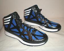 Mens Adidas AS SMU Crazy Shadow 2 Basketball Shoes BLUE BLACK WHITE sz 14