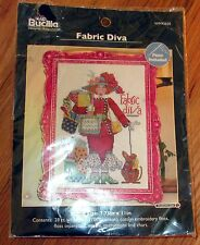 "1 Darling ""Fabric Diva"" Counted Cross Stitch Kit"