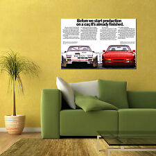 PORSCHE 944 GTP TURBO CLASSIC SPORTS CAR LARGE HD POSTER ART 24x36in
