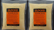 2 Bags Teriyaki Jerky Seasoning Spices with Cure 41.5 oz. Seasons 40 Lbs # 4102