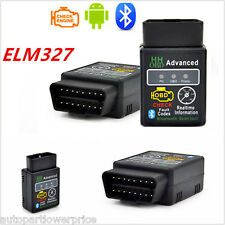 New ELM327 HH ODB ODB2 V1.5 Advanced Bluetooth Car Auto Diagnostic Scanner Tool