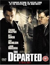 The Departed DVD Jack Nicholson Leonardo DiCaprio Martin Scorsesee New UK Rel R2