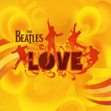 THE BEATLES Love CD BRAND NEW Remixes Cirque Du Soleil