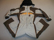 OBERMEYER SKI SNOW SUIT I GROW INSULATED HOOD JACKET PANTS COMPASS BOY'S 5 6