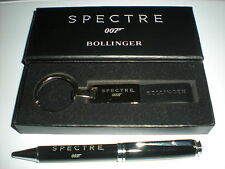 RARE - JAMES BOND 007 EXCLUSIVE SPECTRE PEN & BOLLINGER KEYCHAIN - SKYFALL,