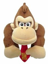 "Authentic Super Mario Bros DONKEY KONG 10 "" Plush Toy Stuffed New with Tags"