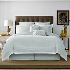 Real Simple Soleil Duvet Cover, King Size, Aqua, Bed Bath And Beyond