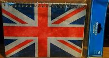 "Note British Flag Note-book Paper ""5x7"" Lined Activity UK Car Note Personal Note"