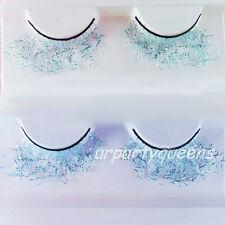 Lace Light Blue Stylish Cosplay False Eyelashes Eye Lashes Party Stage Makeup