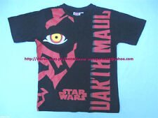45% OFF! Auth STARWARS Darth Maul Black Tee 128-134 / 8-9 years US$11.99+