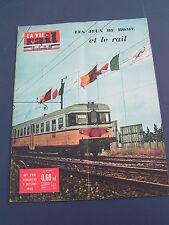 vie du rail 1960 766 PIRIAC ROCHELETS SAINT LAURENT PONT BERON VOIRON BRéVIN
