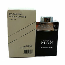 BVLGARI MAN BLACK COLOGNE EAU DE TOILETTE SPRAY 100 ML/3.4 FL.OZ. (T)