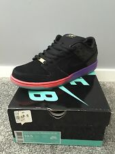 Nike Dunk Low Premium Sb Qs Black Purple Venom Size 10.5