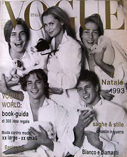 VOGUE 520 1993 Lauren Hutton Jane March Janine Turner Anna Sui Marie Rotshchild