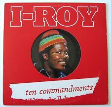 I-ROY / TEN COMMANDMENTS [VIRGIN] YELLOW VINYL LP