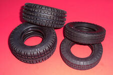 TAMIYA ROUGH RIDER BUGGY CHAMP TIRES SET (NEW!!!) FRONT & REAR FAST ATTACK SHARK