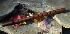 Fife Flute One-piece  American Black Walnut  Key of D   - 2 Octaves