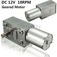 Reversible High Torque Turbo Worm Geared Motor JGY370 DC 12V 10rpm Metal Gear