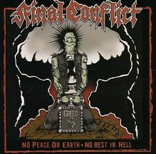 Final Conflict - No Peace on Earth [New CD]