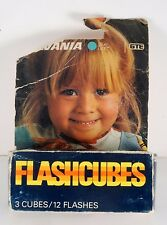 Sylvania FlashCubes Flash Cubes 3- Pack (12 Total Flashes) New Old Stock