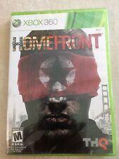 Homefront (Microsoft Xbox 360, 2011) USED SEALED