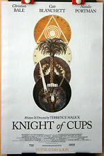 Terrence Malick : C Bale : Knight Of Cups : POSTER