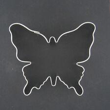 "BUTTERFLY 3.25"" METAL COOKIE CUTTER INSECT ANIMAL BIRTHDAY PARTY FAVOR STENCIL"