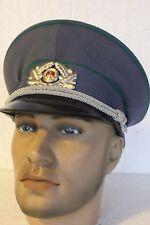 Casquette Officier POLIZEI-ZOLL-Tour de tête 56 cm (Fab-1989) (Ex-DDR)