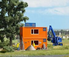 BUSCH 1036 H0, Baustellen-Container, Bausatz, Neu