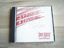 jazz CD swing uk PRIVATE british*SIGNED* DAVE GELLY ANNIE BRIGHT Strike A Light