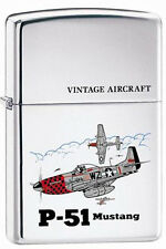 Zippo 250 p-51 mustang american ww2 airplane full size Lighter