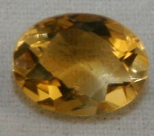 NATURAL YELLOW CITRINE LOOSE GEMSTONE 6X8 FACETED OVAL CUT 1.15CT GEM CI8C