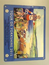Official Small Tour De Yorkshire 2015 Metal Sign Limited Stock