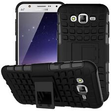 Defender Dual Armor Shockproof Kickstand Back Case Samsung Galaxy J1 4G
