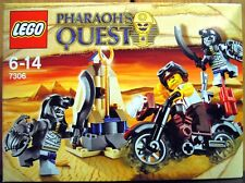 LEGO PHARAOH'S QUEST 7306 Golden Staff Guardians