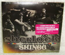 SHINee Sherlock Taiwan Ltd CD only+poster booklet+Card [Japanese Language]