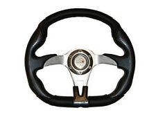 SUPER ATV RZR 800 S 570  Polaris Steering Wheel Black with Adapter New #SW1339B