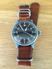 Authentic 1939 Stowa B-Uhr Type A German Luftwaffe WWII Pilot/Navigator Watch