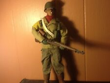 1/6 scale WWII US ARMY infantry smoking African American figure (dragon/21st)